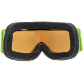 UVEX Slider FM Lunettes de protection Enfant, lightgreen/mirror green